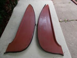 60 Edsel/Galaxie Perfection Rear Fender Skirts 72FO60FL 72FO60F-R 40-1/4 Inches