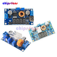 5A DC-DC LED Switch Regulator Charger Power Step Down Module LED Voltmeter Case