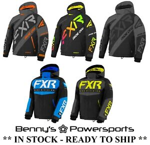 FXR Child Youth Jacket Snowmobile Snow Winter Waterproof Warm F.A.S.T Kids