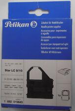 """Pelikan Ruban couleur Star LC 9/10 515643 Noir Nylon 8mm 5/16 """" NOUVEAU & OVP"""