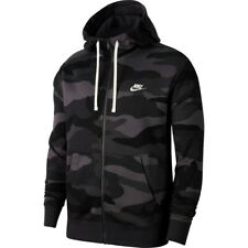 Nike Men's Club Dark Grey Camo Print Fleece Hoodie (BV3622-021) Size S/L/XL NWT