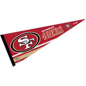 San Francisco 49ers Pennant Flag
