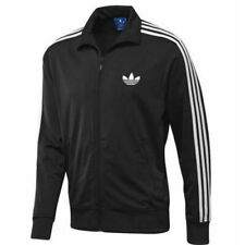 Adidas Mens Originals Firebird Tracksuit Bottoms Full Zip Jacket Top Pant Black