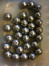 30 X No.4 Round Ball Fishing Sinkers - Bream Flathead Snapper Mulloway, 21g Each
