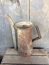 Vintage Well Used Rustic Brookins Swing Spout 1/2 Gallon Oil Can