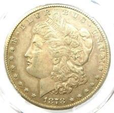1878-CC Morgan Silver Dollar $1 Carson City Coin - Certified PCGS XF45 (EF45)