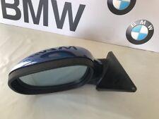 BMW serie 3 Espejo Ala Eléctrico (izquierda) E90/91, 7182695, Azul 5 Pines, Original