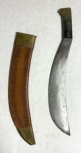Original Collins & Co. 1005 Engineer Bolo with Scabbard