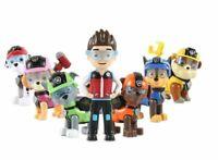 Paw Patrol figure set toy dog rescue team action cartoon figurine 7cm dolls gift