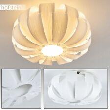 Plafonnier rond Retro Lampe à suspension Luminaire Lampe de couloir Lustre blanc