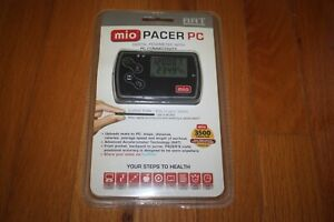 New In Package Mio Pacer PC Pocket Pedometer w/ PC Connectivity SHIP FREE US