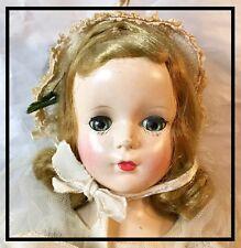 1950's Madame Alexander HP Walker Bride Doll - All Original