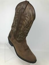 Laredo Western Cowgirl Distressed Leather Boots Style 5742 Brown Women Size 7 M