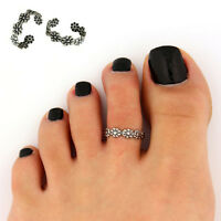 New Fashion Simple Retro Silver Gold Adjustable Open Mouth Toe Ring Foot Jewelry