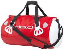 Held porter sac à bagages 30 LITRE NOIR ROUGE MOTO de la marin