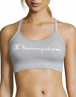 Champion Sports Bra The Sweatshirt Cami Script Logo Seamless Moderate Support
