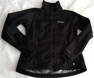Columbia Women's Size Small Omni-Heat Thermal Comfort Full Zip Jacket Black