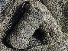 Authentic~ NO SMELL~ Used Nylon Fish Netting~Fishing Nets 95-105 sq. ft. 36.95