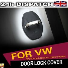 4x For VW Door Lock Buckle Cover Anticorrosion Passat Golf Jetta Scirocco Skoda