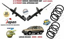FOR LEXUS RX300 AWD 2000-2003 NEW 2 X FRONT SHOCK ABSORBER SET + 2X COIL SPRINGS