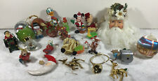 Vintage Lot of 25 Christmas Ornaments.