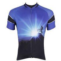 Conquerors Cycling Sport Jerseys Men's Bicycle Clothing Mountain Bike Shirts Top