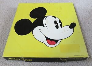 Springbok Mickey Mouse 1972 Pop Art Complete Jigsaw Puzzle
