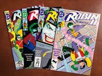 Robin II #1-4 Jokers Wild (1991) 9.2 NM DC Key Issue Batman Complete Mini Set