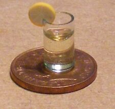 1:12 Scale Vodka Cocktail In A Plastic Glass Dolls House Drink Pub Accessory