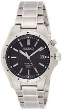 Seiko Mens Kinetic Watch with Titanium Strap SKA763P1