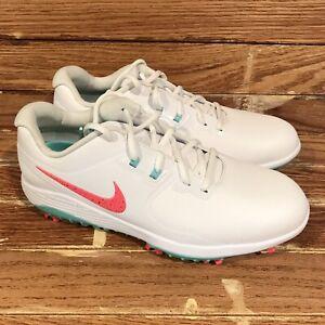 Nike Vapor Pro 'Hot Punch' White Green Leather [AQ2197-105] Men's Sz 9.5