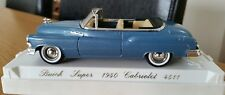 1:43 Diecast 1950 American Buick Cabriolet Convertible Perfect Cased