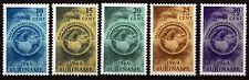 Surinam 553-57 **, Ostern