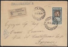1932 Emission General, Pa 14 Su Air Letter Cert. Raybaudi