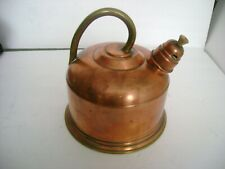 Copper Tea Pot With Steam Spout Made In Portugal