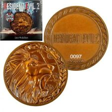 Resident Evil Lion Medallion with Stand Limited to 5,000pcs Worldwide! Official