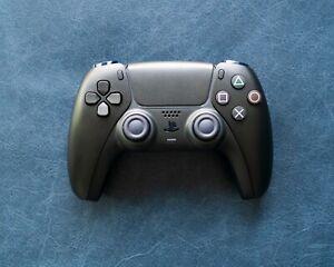 Playstation 5 Dualsense Sony PS5 Wolf Matte Black Custom Wireless Controller New