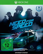Need For Speed (Microsoft Xbox One, 2015, DVD-Box)