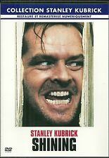 DVD - SHINING avec JACK NICHOLSON / STANLEY KUBRICK - STEPHEN KING / COMME NEUF