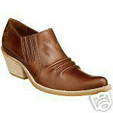 Penny Loves Kenny Women's Horse N Buggy Tan Leather Bootie Sz 8.5M