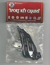 Washington Capitals Rubber Keychain Lase 00006000 r Cut Rubber Key Tag Keychain Nhl New