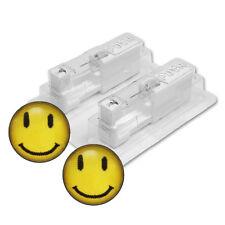 1 Paar STUDEX Medizinische Ohrstecker Smile Stecker weiss Ø5mm 7512-0604