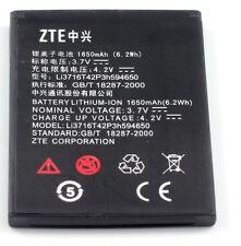 2 NEW OEM ZTE Warp N860 N910 Battery Li3717T43P3h565751 1600mAh