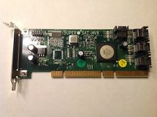 *LATEST Rev1.0*Supermicro AOC-SAT-MV8 8-Port SATA RAIS Card For 1U 2U low Profil