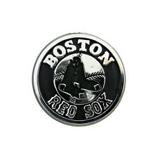 Boston Red Sox Silver Auto Emblem [NEW] Car Decal Sticker Static Cling MLB CDG