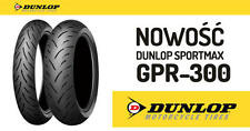 Pneumatici Moto Dunlop Sport Max GPR 300 coppia gomme 120/70zr17 180/55zr17
