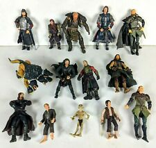 Lord of the Rings Trilogy Action Figure Bundle 14 Figures