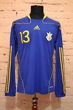 UKRAINE NATIONAL TEAM FOOTBALL SHIRT 2010/2011/2012 JERSEY TRIKOT PLAYER ISSUE