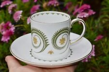 Susie Cooper ASSYRIAN MOTIF Coffee Can & Saucer Duo (multiple available)