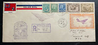 1936 Kenora Canada First Flight Airmail Cover FFC To Machin